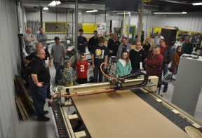 CNC Router being demonstrated at Go LIVE!