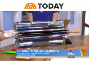 Gosun stove on the TODAY Show