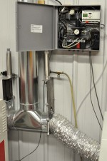 Automated fume extraction system