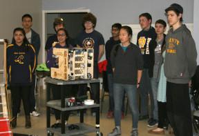 Walnut Hills robotics team
